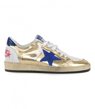 GOLDEN GOOSE  - GOLD BALLSTAR SNEAKERS