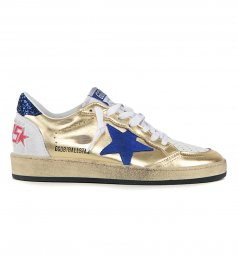 JUST IN - GOLD BALLSTAR SNEAKERS