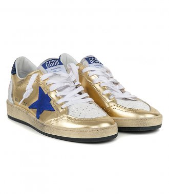 GOLD BALLSTAR SNEAKERS