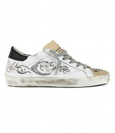JUST IN - ARGENTINA PRINT SUPERSTAR SKATE SNEAKERS