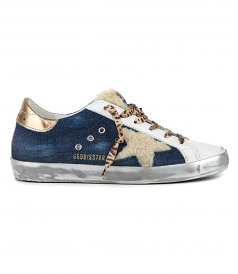 JUST IN - DENIM SUPERSTAR SNEAKERS