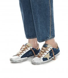 DENIM SUPERSTAR SNEAKERS