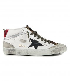 JUST IN - CAMOUFLAGE MID STAR SNEAKERS
