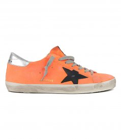 SHOES - ORANGE SUPERSTAR SNEAKERS