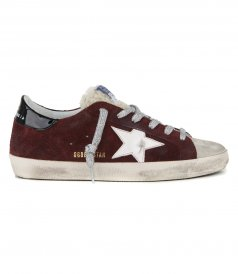 SHEARLING TONGUE SUPERSTAR SNEAKERS
