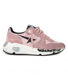 SHOES - PRINT STAR RUNNING SOLE SNEAKERS