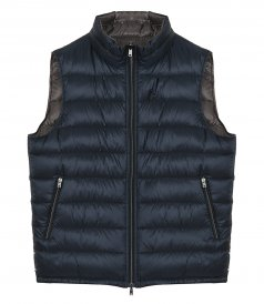 JACKETS - REVERSIBLE NYLON ULTRALIGHT WAISTCOAT