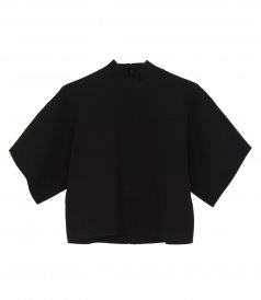 CLOTHES - TURTLENECK SHORT SLEEVE TOP