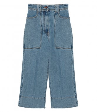 PHILOSOPHY DI LORENZO SERAFINI - DENIM TROUSERS