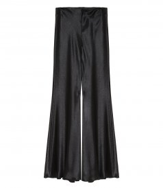 WIDE BELL-FLARE TROUSERS