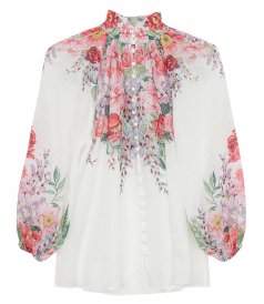 TOPS - BELLITUDE FLORAL BLOUSE