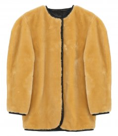 CLOTHES - FAUX FUR LONG JACKET