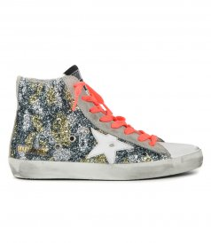 SHOES - CAMOUFLAGE GLITTER FRANCY SNEAKER
