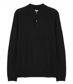CLOTHES - MERINO BUTTONED WOOL POLO