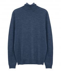 CLOTHES - MERINO ROLL NECK PULLOVER