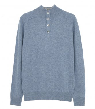 HARTFORD - WOOL AND CASHMERE HIGH-NECK SWEATER