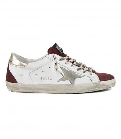 SHOES - TERRA DI SIENA SUEDE STAR SUPERSTAR SNEAKERS