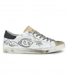 SHOES - ARGENTINA PRINT SUPERSTAR SNEAKERS