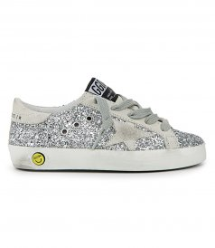 GLITTER SUPERSTAR SNEAKERS