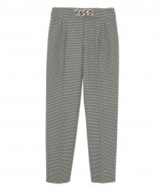 CLOTHES - LOW WAISTED PLEATED PANT