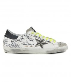JOURNEY SIGNATURE SUPERSTAR SNEAKERS