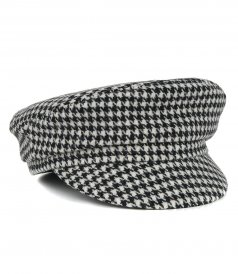 ACCESSORIES - HOUNDSTOOTH CHECK CAP