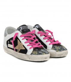 GLITTER TOE SUPESTAR SNEAKERS