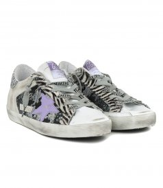 JACQUARD SUPERSTAR SNEAKERS