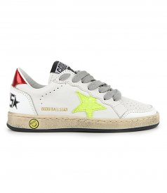SHOES - COCCO PRINT BALL STAR SNEAKERS