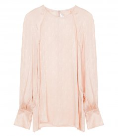 RAGLAN-SLEEVE TOP IN PETAL PINK