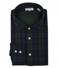CLOTHES - DOUBLE-FACE COTTON FLANNEL PAUL REGULAR SHIRT