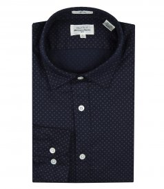 CLOTHES - MICRO PRINTS SAMMY SLIM-FIT SHIRT