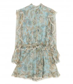 JUST IN - LADYBEETLE FRILL PLAYSUIT
