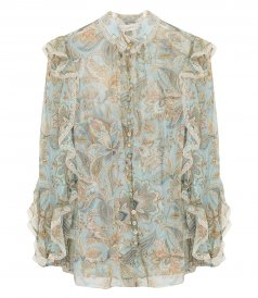 JUST IN - LADYBEETLE FRILL BLOUSE