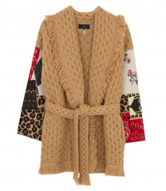 HONEY PATCHWORK CARDIGAN