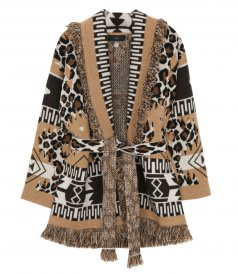 LEOPARD ICON CARDIGAN