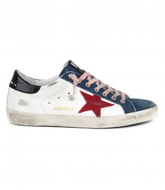 SHOES - DENIM TOE SUPERSTAR SNEAKERS