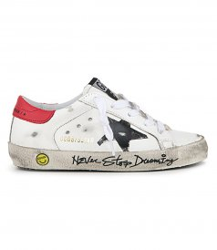 SHOES - NEVER STOP DREAMING SIGNATURE SUPERSTAR SNEAKERS