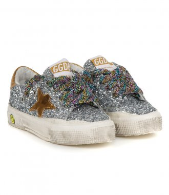 GLITTER UPPER MAY SNEAKERS