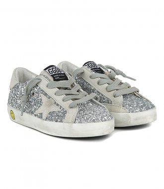 GLITTER UPPER SUPERSTAR SNEAKERS