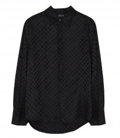 SHIRTS - JACQUARD SILK SHIRT