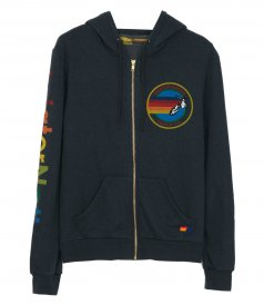 CLOTHES - AVIATOR NATION ZIP HOODIE