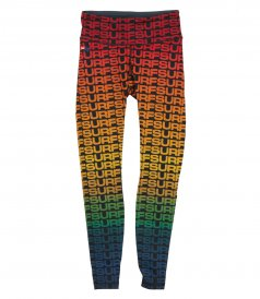 LEGGINGS - FULL LENGTH SURF REPEAT LEGGINGS