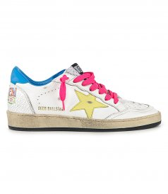 SHOES - CRACK SERIGRAPH BALLSTAR SNEAKERS