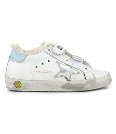 OLD SCHOOL LAMINATED STAR SNEAKERS