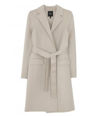 THEORY - BELT COAT LUXE
