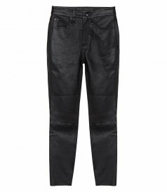 JUST IN - NINA HIGH-RISE SKINNY LEATHER PANT