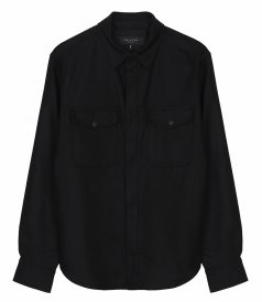 JACKETS - JACK ZIP WOOL BLEND SHIRT JACKET