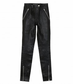 CLOTHES - SIMONE LEATHER MOTO PANTS