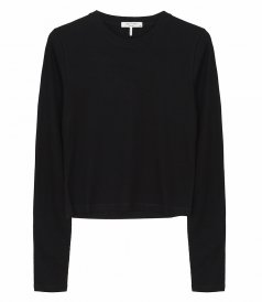 TOPS - THE RIB CROPPED LONG SLEEVE